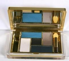 Estee Lauder Pure Color 01 Blue Dahlia 5 Pan Eyeshadow Compact Unboxed - $39.59