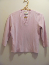 LADIES TALBOTS PETITES SWEATER-SMALL-LAVENDER-LONG SLEEVE-V-NECK-CASUAL-... - $5.00