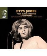ETTA JAMES  (4 CLASSIC ALBUMS PLUS SINGLES ) 4 CDS - $6.98
