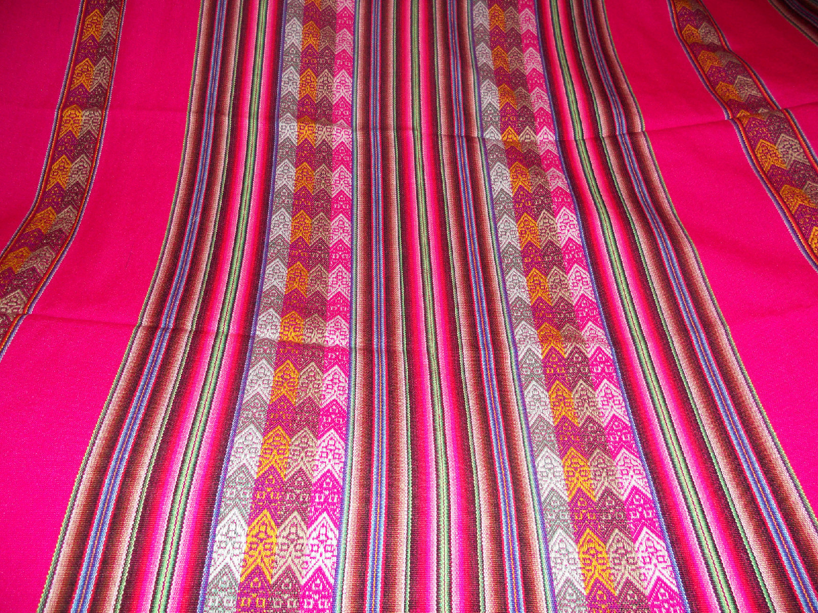 unique textile collection pink tribal