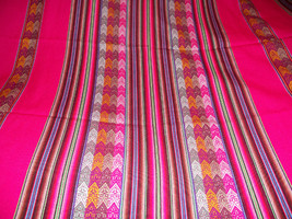 unique textile collection pink tribal - $32.00
