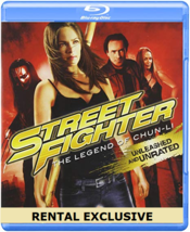 Street Fighter: The Legend of Chun-Li [Blu-ray]