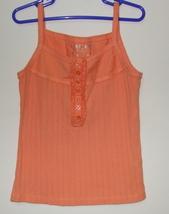 Girls Cherokee Orange Tank Top Size Small - $3.95
