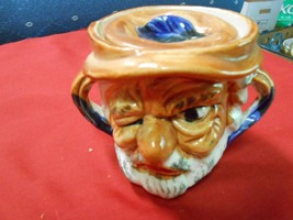 "Great Collectible Vintage Miniture TOBY MUG..with Lid ."".One Eyed Pirate... - $16.83"