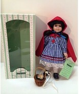 Seymour Mann Doll Storybook Tiny Tots Red Riding Hood Limited Edition Dolls - $18.81