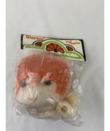 Darice Mitzi Doll Head and Hands Orange Hair - $3.95