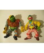 Vintage Playmates 1992 Ninja Turtle Mongo Gecko Rock n Roll & 1989 Gener... - $34.64