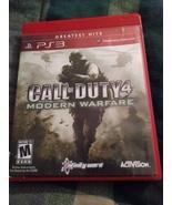 Call of Duty 4 Modern Warfare PlayStation 3 - $7.50