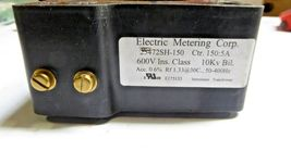 Electric Metering Corp E175133 Instrument Transformer 600V New image 3