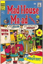 Mad House Ma-Ad Jokes Comic Book #70, Archie 1969 FINE-/FINE - $8.79