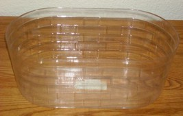 Longaberger 2007 Easter Picket Pail Basket Plastic Protector Only New Authentic - $10.84