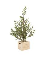 Darice Christmas Mini Pine Tree with Wood Pot: Green, 8 x 30 inches w - $59.99
