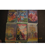 Mixed Lot of 12 Children`s VHS Movies Clamshell - $25.20