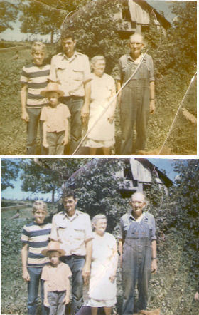 Photo Restoration Repair old photos and color enhancement