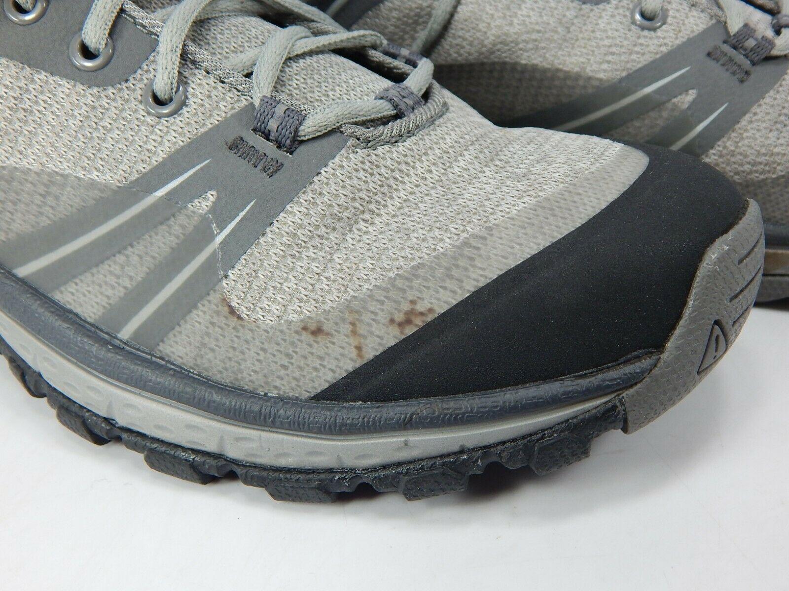 Keen Terradora Low Top Size 7.5 M (B) EU 38 Women's WP Hiking Shoes Grey 101650