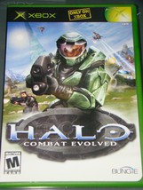 Xbox   Only On Xbox   Halo Combat Evolved (Complete With Instructions) - $8.50