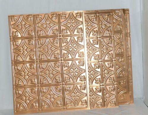 Fasade D6025 Polished Copper Back Splash Panel Set of 5 Pieces