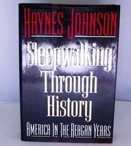 1991 1st Edition, 1st Printing Signed Book - Sleepwalking Through History - $5.95