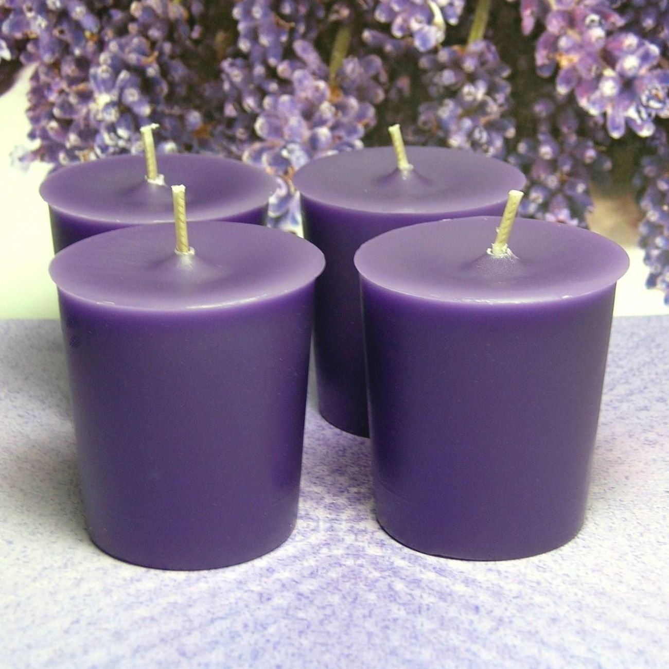 Votives herbal lavender