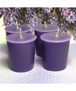 Herbal Lavender and Lemongrass PURE SOY Votives (Set of 4) - $6.00