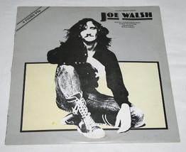 Joe Walsh Vintage Uk Import 12 Inch  Ep Record Album - $39.99