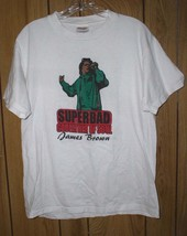 James Brown Concert Tour T Shirt Superbad Godfather Of Soul - $164.99