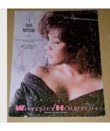 Whitney Houston Sheet Music I Have Nothing Vintage 1993 - $23.99