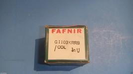 NEW FAFNIR G1103KRRB/COL S1103K INSERT ROLLER 1-1/8 IN BEARING B232343