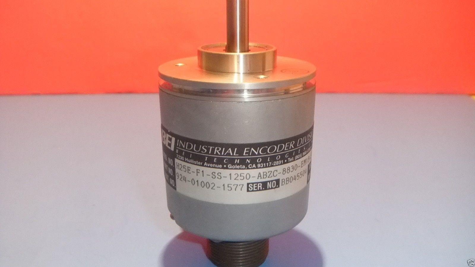 BEI H25E-F1-SS-1250-ABZC-8830-EM18-S ROTARY ENCODER