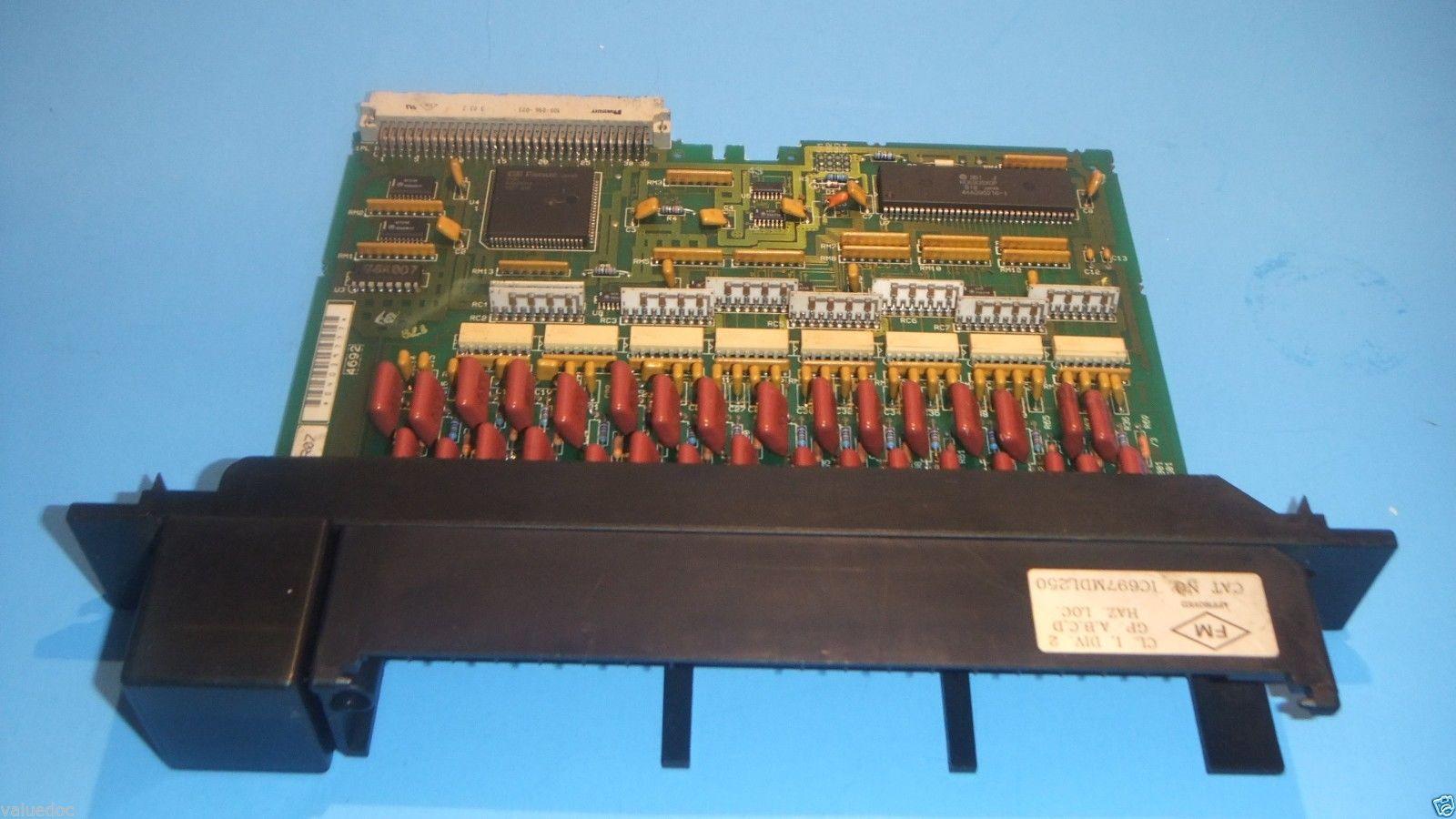 GE FANUC SERIES IC697MDL250 90-70 Series PLC input card
