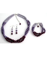 Purple Wedding Combo Colors Plum Purple Lilac M... - $27.68