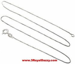 14K White Gold Layer On Solid Silver Swarovski Crystal Handset Charm Free Chain image 6