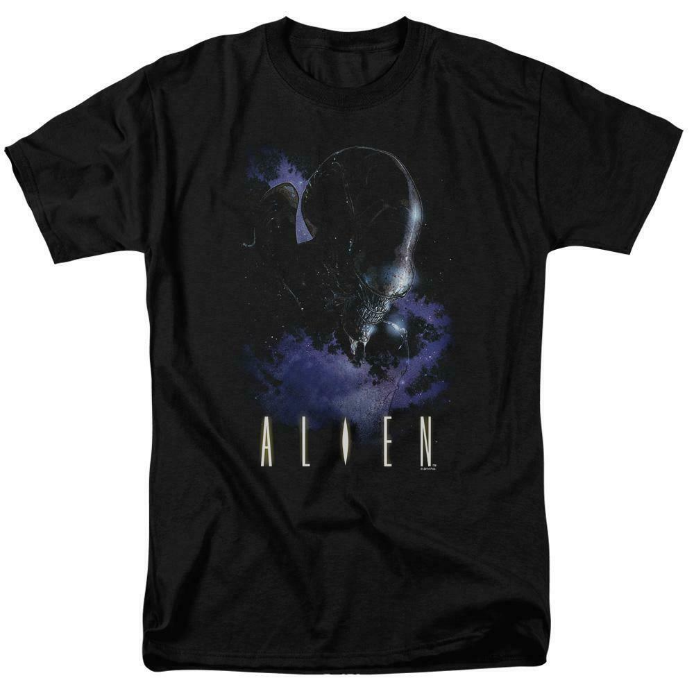 Alien t-shirt retro 70's 80's Sci-Fi horror film 100% cotton graphic tee TCF282