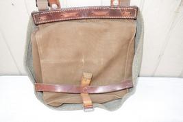 Vintage Swiss Army Military Bread Bag Purse Shoulder Satchel - $39.99