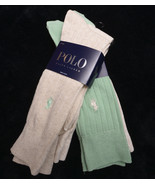 POLO by RALPH LAUREN Four Pair Mens SOCKS Size 10-13  NWT NEW - $39.91