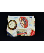 Estee Lauder Makeup Bag Vintage International Hotel Travel Sticker Print... - $8.12