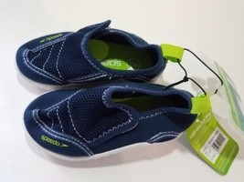 Speedo Toddler Boys Surfwalker Water Shoes - Navy - Size:S (5/6) - $13.85