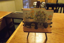 flower  picture  on  easel - $10.00