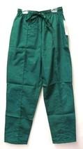 Premier Uniforms Hunter Green Small Elastic Drawstring Scrub Bottoms Pan... - $13.69