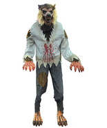 Animated Werewolf Lunging Lifesize Halloween Pr... - $287.09