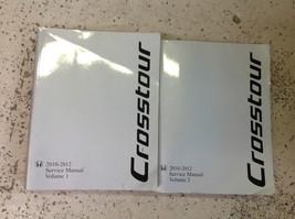 2010 2011 2012 Honda Accord Crosstour Service Repair Manual Set FACTORY NEW - $316.75