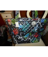 Vera Bradley quilted beach tote  in Spring Tide Navy - $64.00