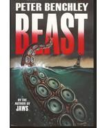 Peter Benchley Beast HC Random House 1991 Horror Fiction - $7.95
