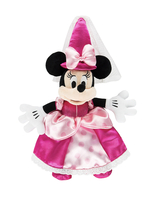 Disney Parks Minnie Mouse Princess 9 inch Plush Doll NEW - $29.90