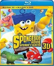 Spongebob Movie: Sponge Out of Water  [Blu-ray + 3D + DVD] - $4.95