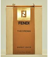 Fendi Theorema Esprit d'Ete 50ml 1.7 Fl. Oz. Spray Perfume Woman Vintage... - $249.90