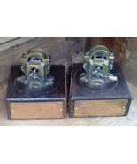 Bookends.  Edison Stock Ticker Bookends.  Vintage Replica Ticker Tape Bo... - $115.00
