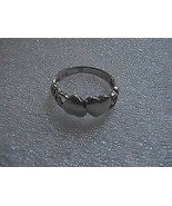Sterling Silver Double Heart Ring - $15.00