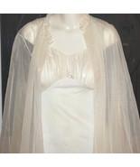 Vintage Kickernick Chiffon Bridal Peignoir Night Gown Nightgown Robe Set... - $80.00