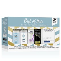 Best Of Hair 6-Pc Gift Set (Shampoo, Conditioner, Dry Shampoo, Hair Spra... - $18.96
